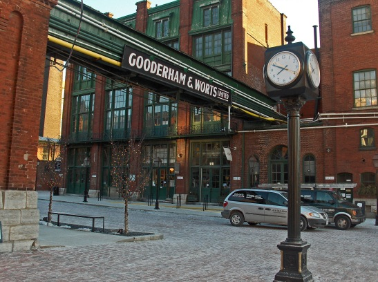 Today, the Distillery District has been reinvented as a pedestrianized entertainment and dining destination.