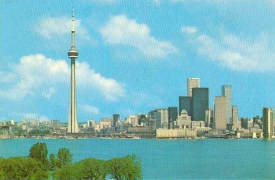 Modernist towers, 1980. Chuckman's Toronto