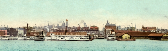 City of churches: The Toronto skyline in 1901